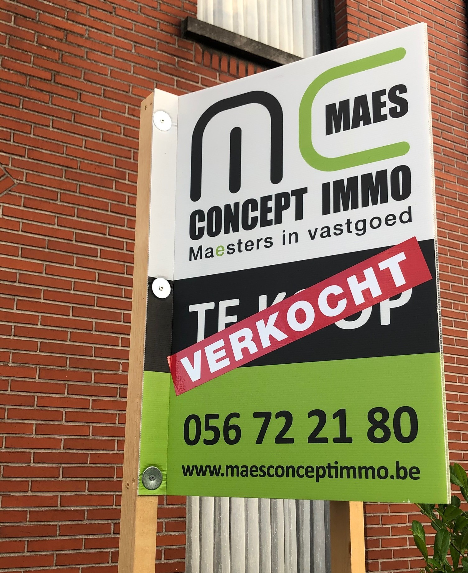 Maes Concept Immo verkopen